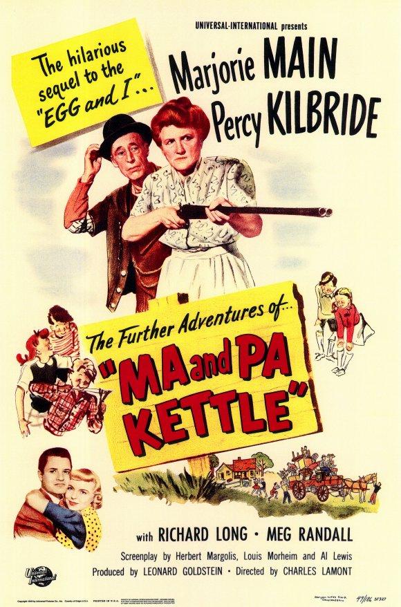 "Ma And Pa Kettle ~ Alittlenonsensenowandthen film commentary "" ""ma"
