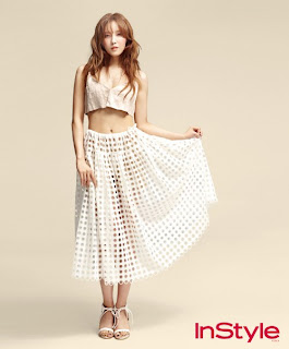 Hyomin T-ara InStyle Magazine June 2013 Sexy