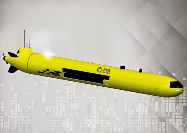 ECA A18 AUV (Autonomous Underwater Vehicle)
