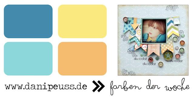 Farben der Woche | www.danipeuss.de