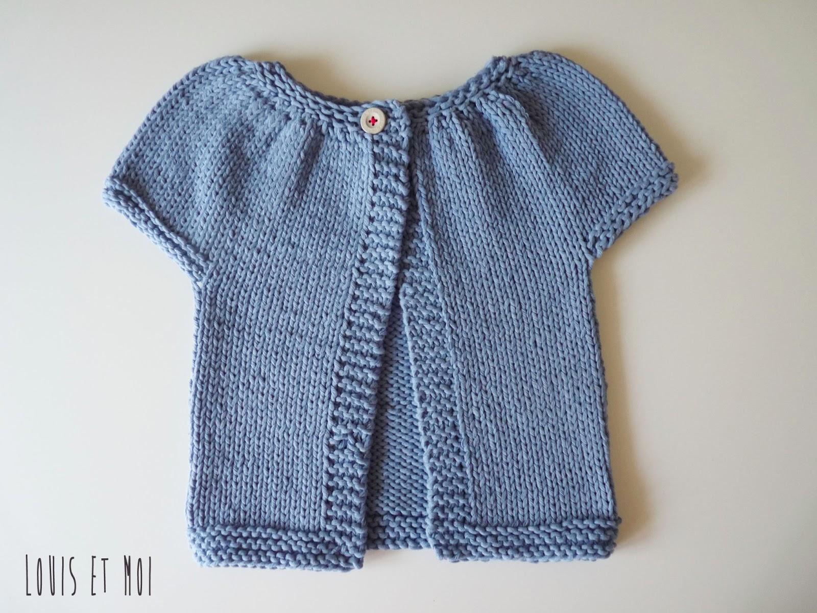 Louis et Moi (cosen y hacen crochet): Mi primera chaqueta, chispas!!