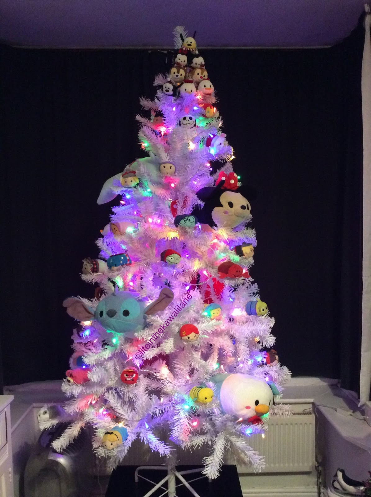 Life in the Kawaii Lane: Our Decora Christmas Trees!
