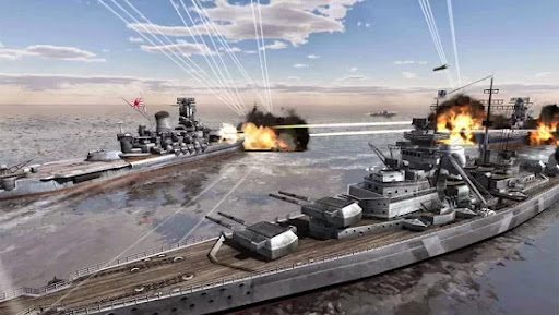 Call Of Warships: World Duty Hile Mod Apk