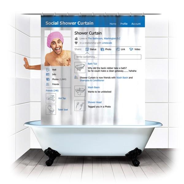 Cortinas De Baño Easy:Tecnología habitual: Cortina de baño de facebook