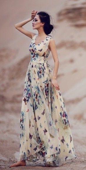 So beautiful and feminine.