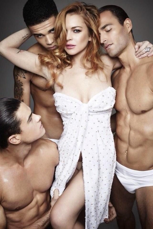 Lindsay Lohan hace trió y más-FARANDULA INTERNACIONAL PAREJAS DISPAREJAS