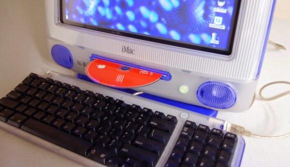 дисковод в моноблоке iMac G3