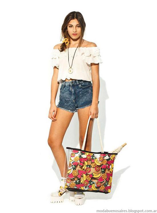 Moda juvenil 47 Street verano 2015. Moda 2015.