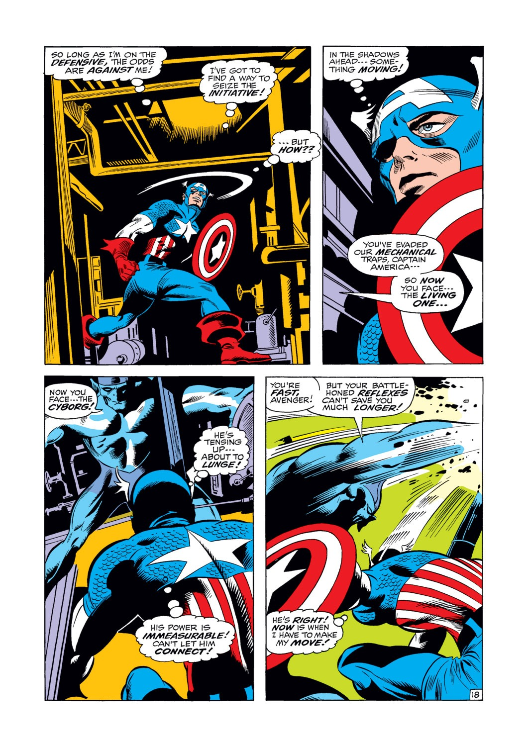 Captain America (1968) Issue #124 #38 - English 19