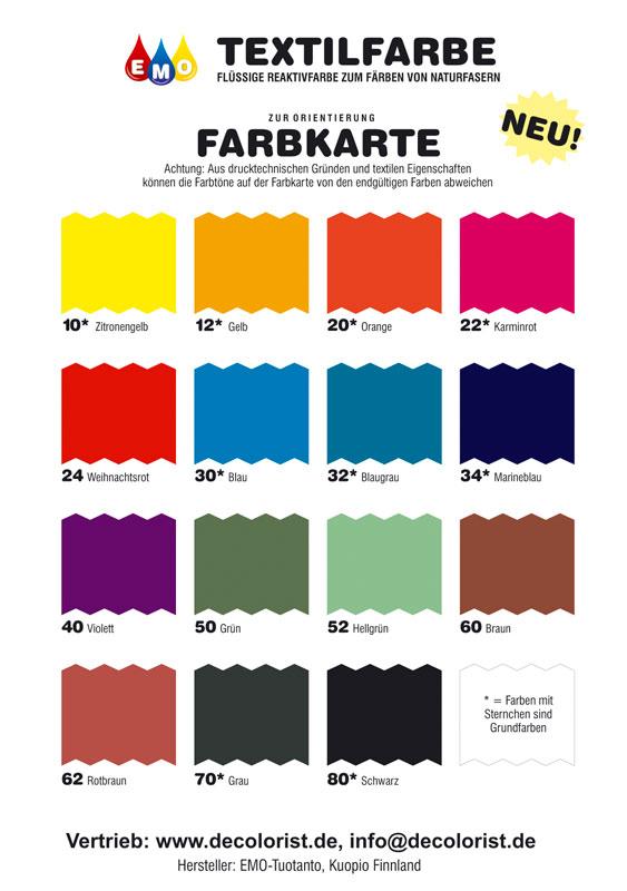 zaubergl ckchen abverkauf emo textilfarben 25 reduziert. Black Bedroom Furniture Sets. Home Design Ideas