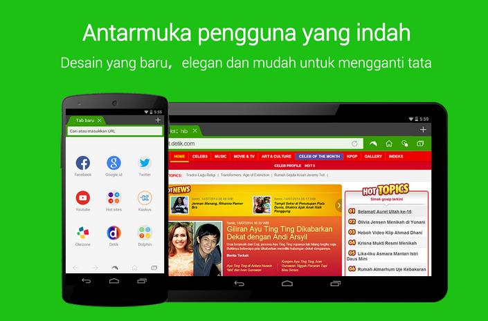 Dolphin Browser ~ Browser Tercepat Untuk Android