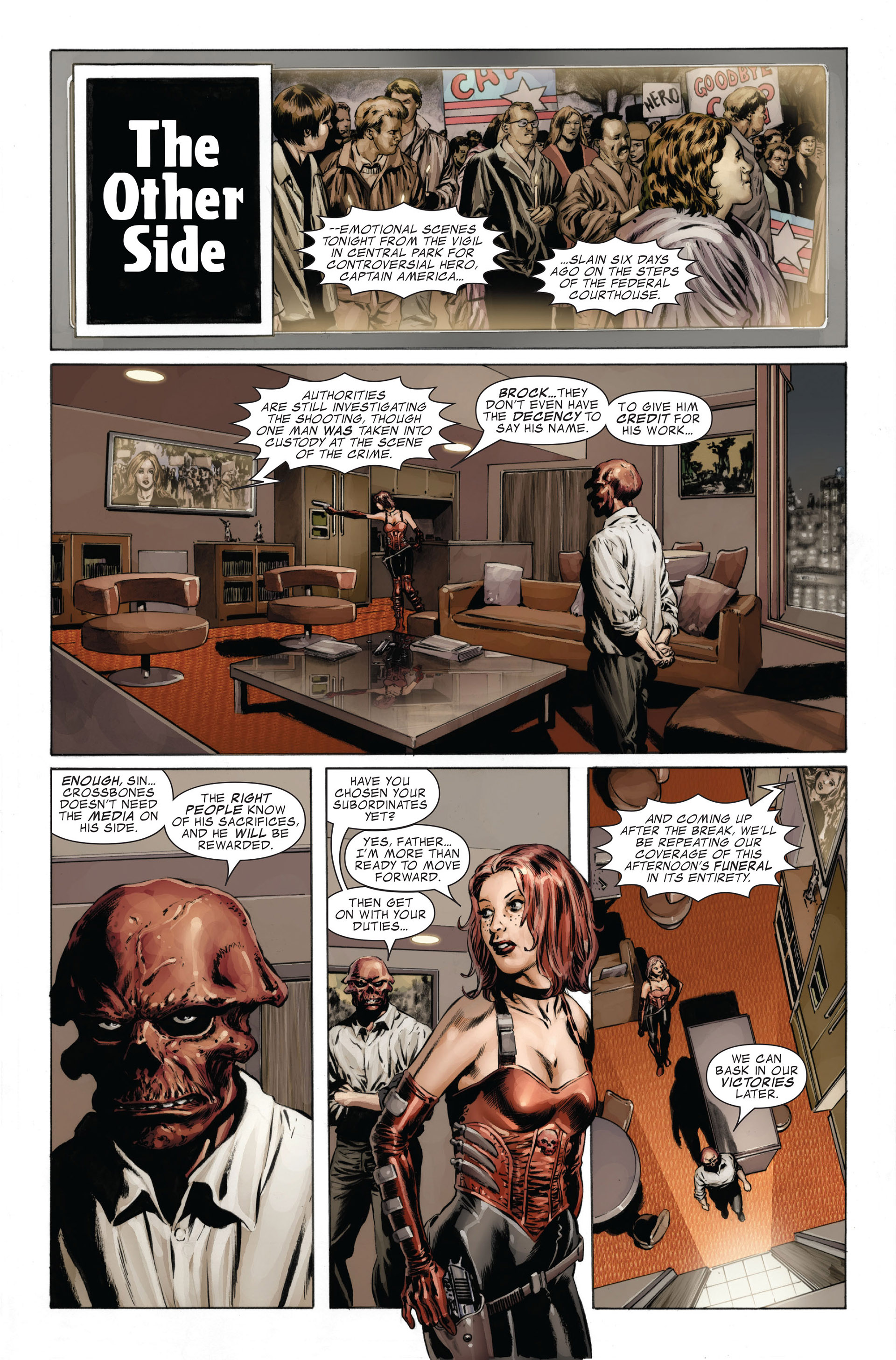Captain America (2005) Issue #26 #26 - English 13