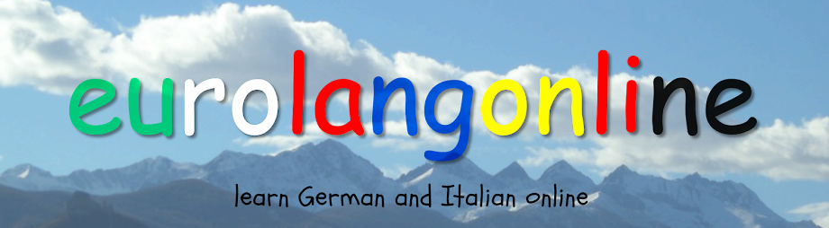 German, Italian and English Lessons Online