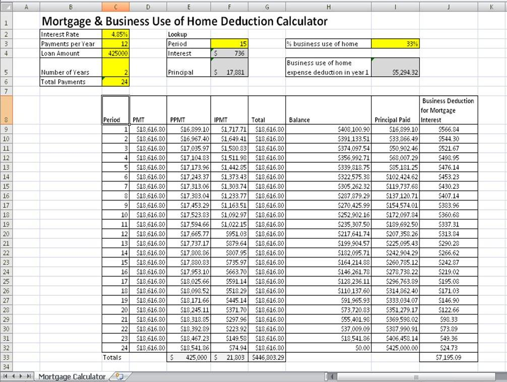 Techno tray how to build a mortgage calculator for free for Build a home calculator