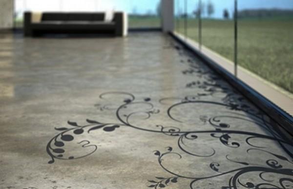 decorar con cemento