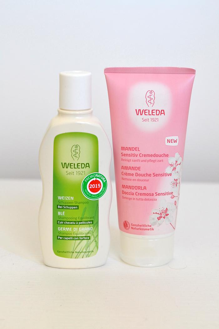 shampoo bagnoschiuma weleda