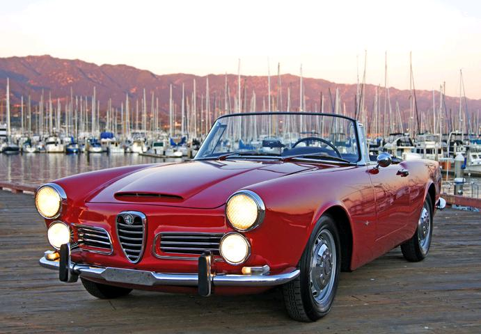 1966 Alfa Romeo 2600 Spider   A Little Eye Candy For A Wednesday