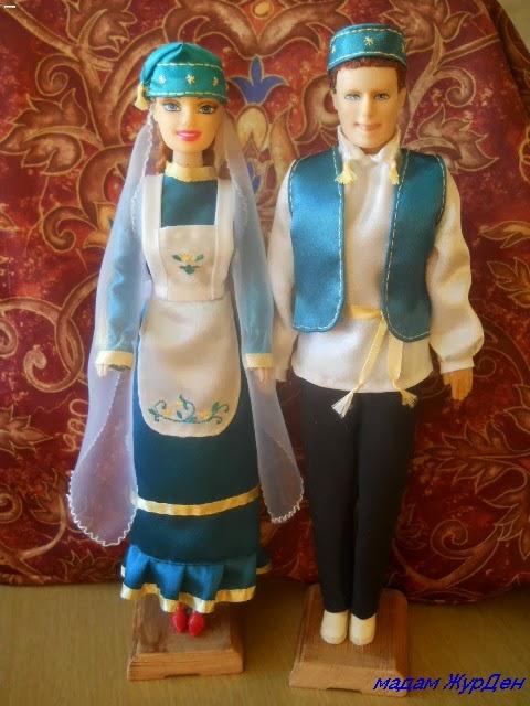 Татарские костюмы своими руками