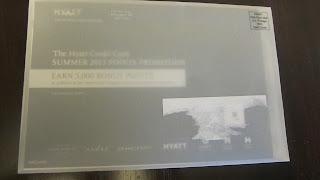 Amazing Hyatt Promotion's Amazing Promotion Material