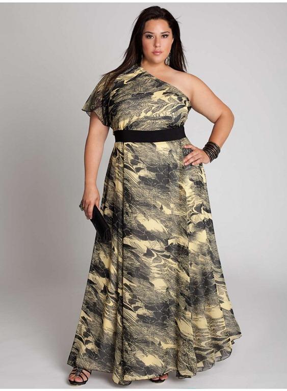 imagen vestidos fiesta pronovias tallas grandes