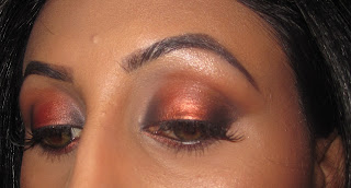 mac, eyeshadow, coppering, carbon, soft brown, folie, texture, vanilla, ricepaper, look, indian, bridal, blog, beauty, tutorial 1