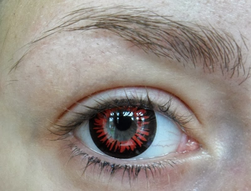 Dark Red Eye ContactsDark Red Eye Contacts