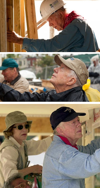 Volunteer Jimmy Carter