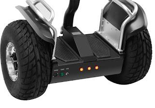 Finalmente un Segway barato todo terreno con motores independientes en cada rueda
