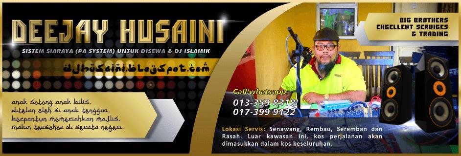 Khidmat sewa PA sistem dan DJ di Rembau, Seremban, Senawang, Rasah dan Negeri Sembilan