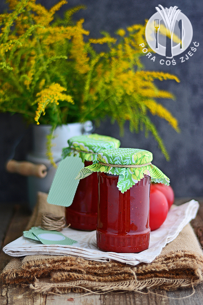Przetwory pomidory malinowe