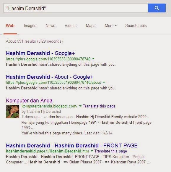 Cara cari bahan di Google dengan lebih mudah dan khusus