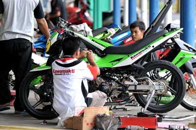 Tim Malaysia Comot Mekanik Indonesia