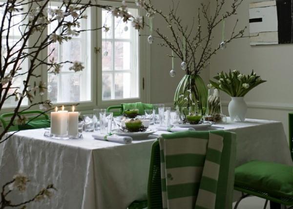 Wunderkammer 18 maneras de decorar la mesa en navidad for Weihnachtstisch dekorieren