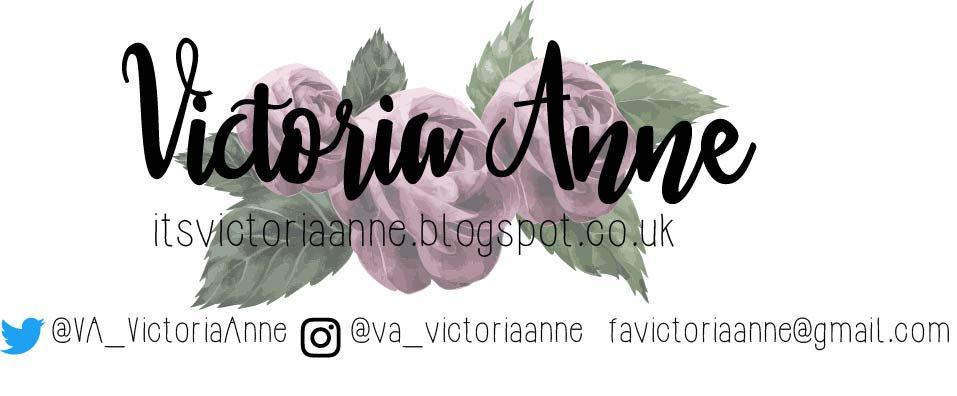 It's Victoria Anne