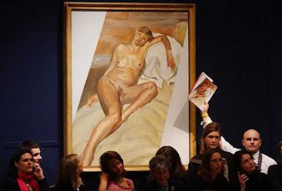 Kate Moss Lucian Freud Subasta Christie's
