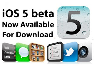 iPad iOS 5 Beta 1