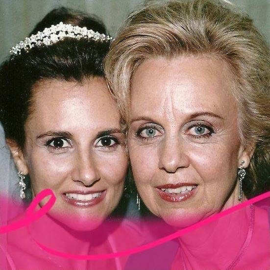 Outubro Rosa,abraçamos essa causa-Minha filha e eu