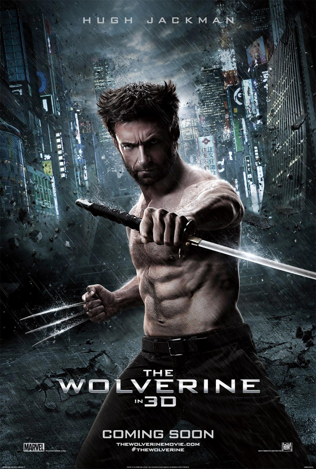 The Wolverine Movie Poster