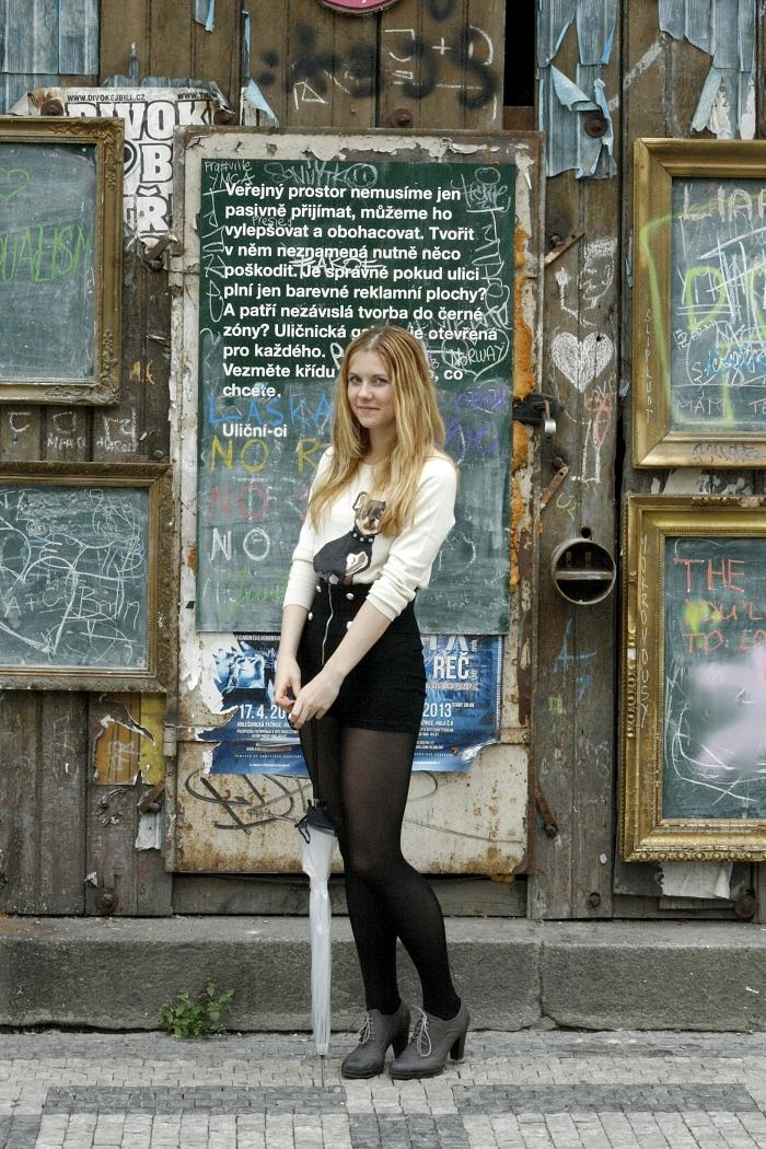 lucie srbová, audrey and pearl, uličnická galerie, umění