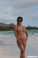 Laurie G picture gallery in a School Girl Beach Bikini (MS Collection) in Hawaii Beach