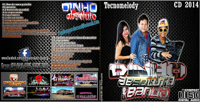 CD TECNOMELODY DINHO ABSOLUTO E BANDA