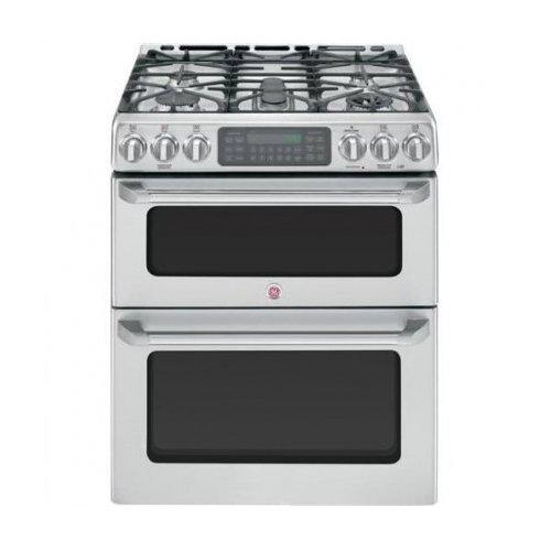 double ovens gas double oven range