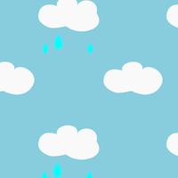 rainy sky Paper