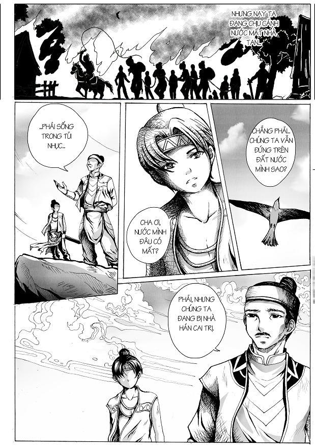 Anh Hùng Lĩnh Nam chap 1 - Trang 10