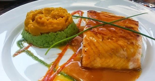 street food cuisine du monde recette de saumon en papillote au miel l 39 ail au vinaigre et. Black Bedroom Furniture Sets. Home Design Ideas