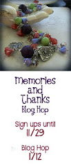 Memories and Thanks Blog Hop