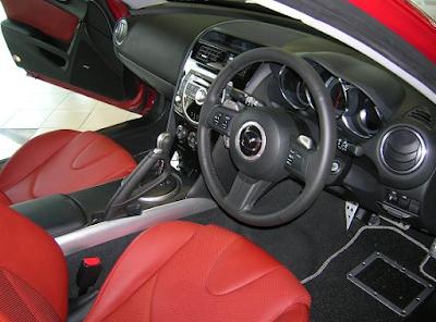 Interior Mazda RX-8 R Spirit