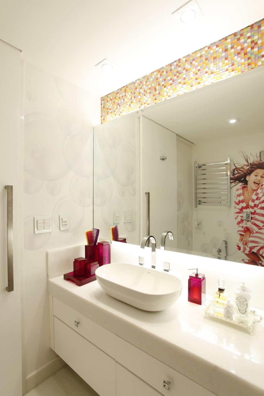Marcela Sertã e Juliana Giusti Design de Interiores: BANHEIRO MENINA #AA2130 1067 1600