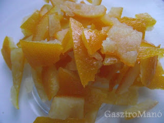 Kandirozott narancshej