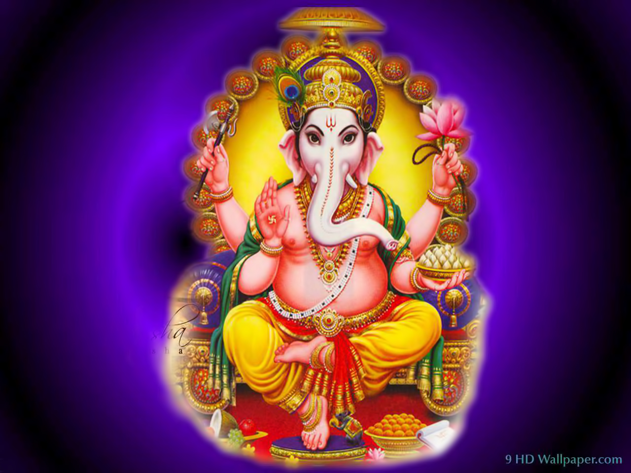 lord ganesha wallpaper computer background - photo #36